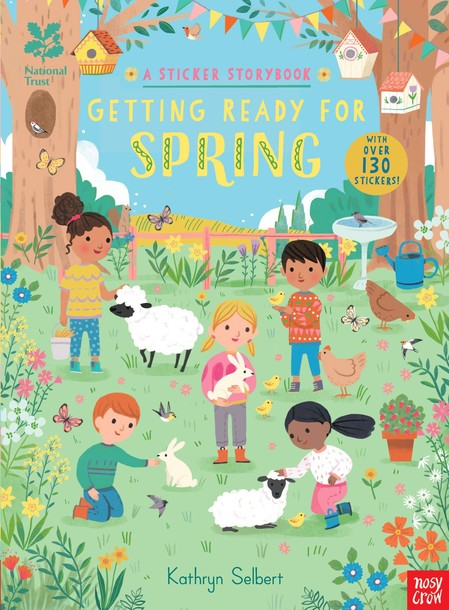 Getting Ready for Spring, A Sticker Storybook (1)
