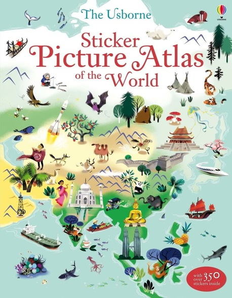 Sticker Picture Atlas of the World (1)