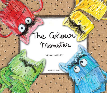 The Colour Monster - a pop up book (1)