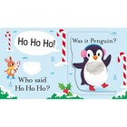 Who Said Merry Christmas? - A lift-the-flap touch and feel book (2)